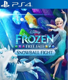 Frozen Free Fall Snowball Fight