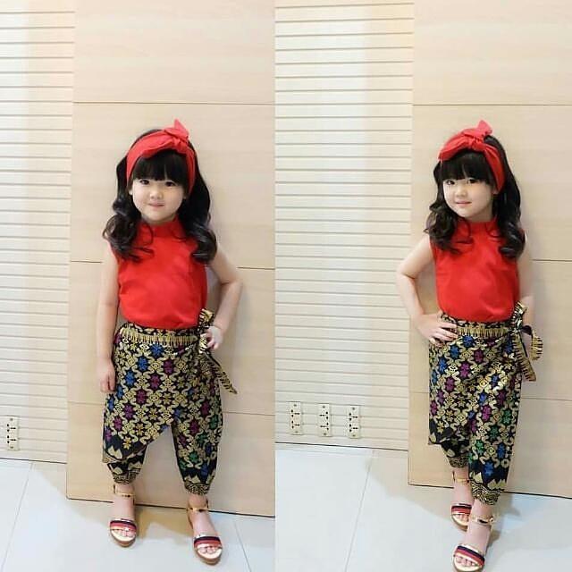 Model Fashion Baju Batik Anak