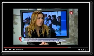 Sandra García, Responsable del proyecto FLL en Autismo Burgos