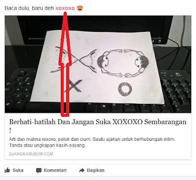 Cara bermain XOXOXO di Facebook