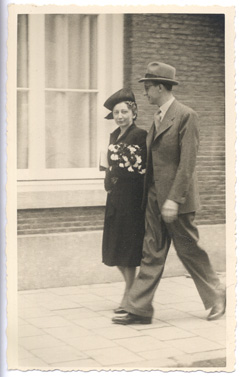 Miep and Jan Gies, 16 July 1941 worldwartwo.filminspector.com