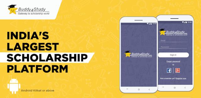Buddy4Study Scholarship App
