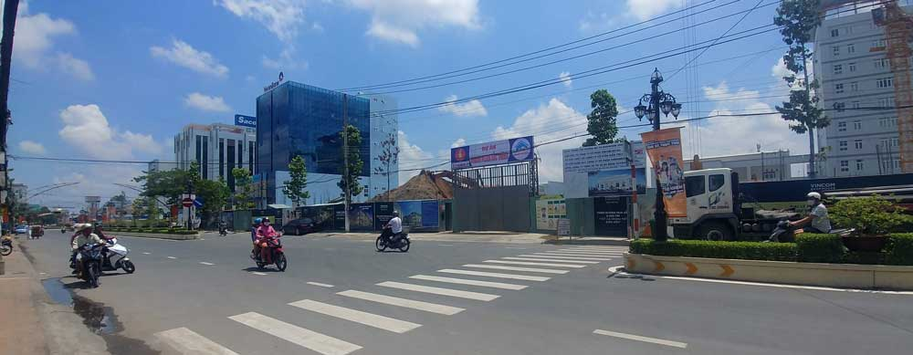 Xây dựng dự án Vincom Plaza Sóc Trăng