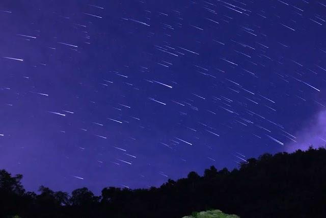 Saiba como ver chuva de meteoros deste final de semana