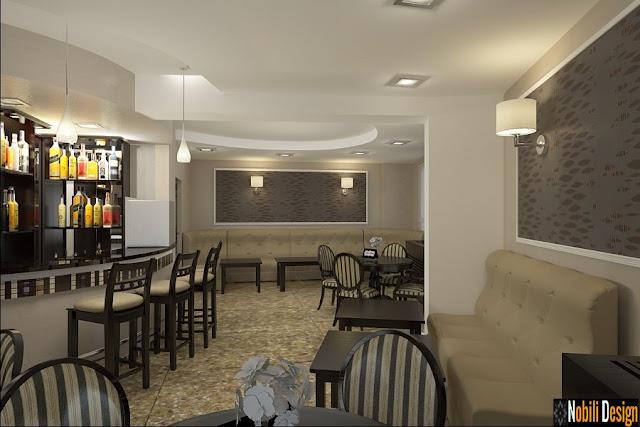 Design interior bar-cafenea stil modern Bucuresti-Design Interior&Amenajari Interioare