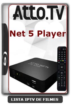Atto Net 5 Nova Atualização Para Correção nos canais HDs V2.54 - 19-03-2020