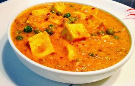 Matar Paneer Recipe in Hindi