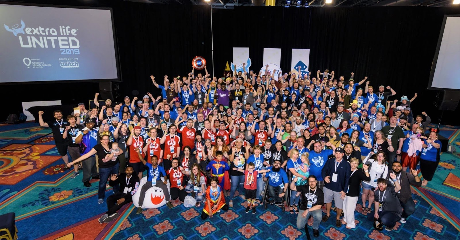 Dominic's journey with AML: Extra Life United 2019: Unicorns and hugs