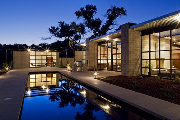 Bedroom Design Blog Contemporary Glass Home Design