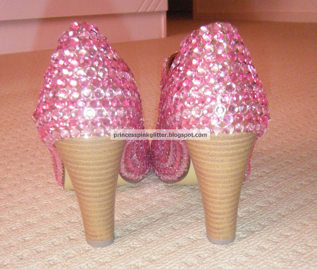 Pink Sparkly Shoes For Baby