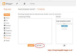 Tutorial membuat template blog sendiri dari awal