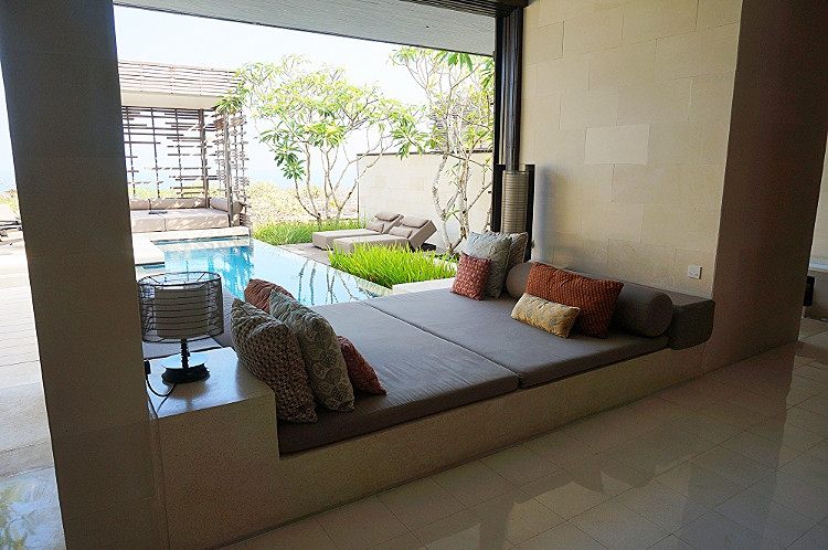 Euriental | fashion & luxury travel | Alila Villas Uluwatu, inside the villa - lounging area