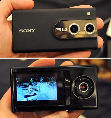 Gambar Kamera Sony Bloggie 3D