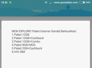 Paket Internet Murah Telkomsel 4G LTE 12GB dan 8GB Terbaru 2018