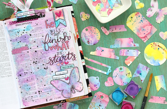 photograph relating to Free Printable Bible Tabs identified as PitterAndGlink: Obtain This Free of charge Bible Journaling Determination