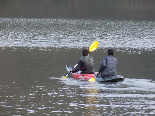 Kayaking at Naukuchiatal