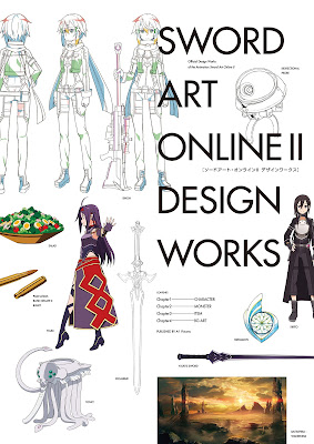 ソードアート・オンライン Design Works I-II zip online dl and discussion