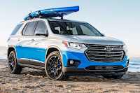 Chevrolet Traverse SUP Concept (2018) Front Side