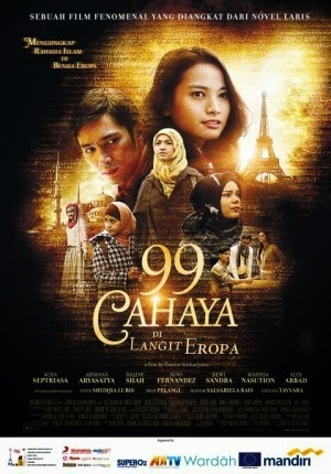 Download Film 99 Cahaya di Langit Eropa Part 1 dan 2