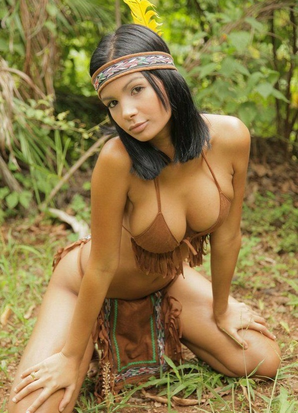 African native american girls nude