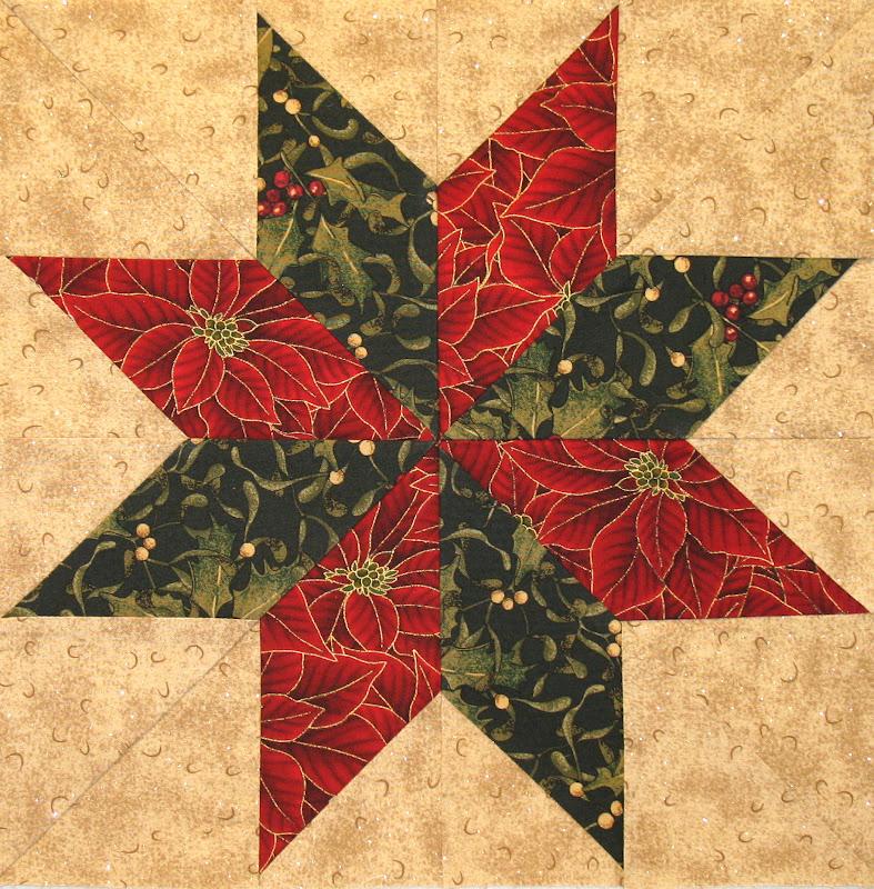 neighborhood quilt club  eight pointed star
