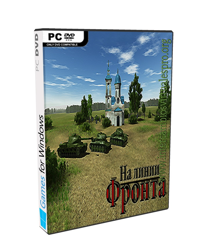 On The Front Line poster box cover