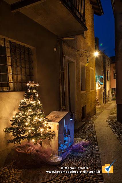 Via dei Presepi a Vira Gambarogno in canton Ticino