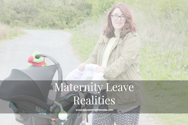 blog post about the realities of maternity leave