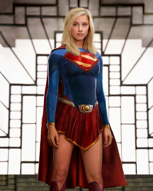 Supergirl Man of steel style
