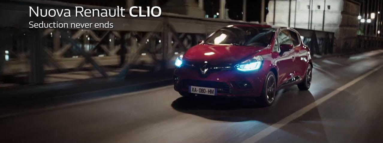 Canzone Renault Clio Pubblicità nuovi fari LED | Seduction never ends