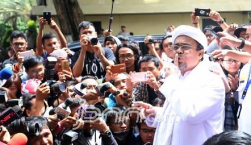 Pentolan Alumni 212 Yakin Habib Rizieq Bakal ke Jokowi