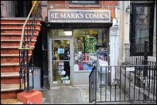 Ev Grieve A Visit To St Mark S Comics