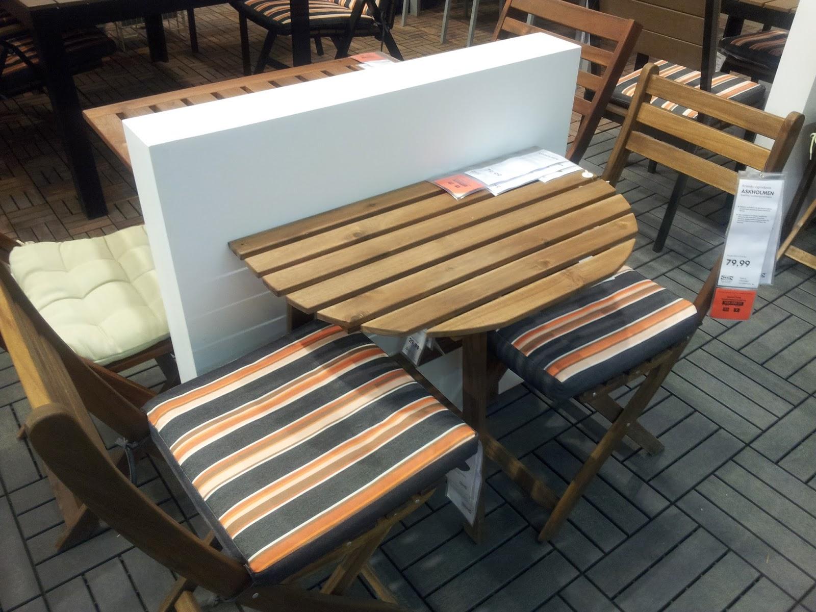 meble ikea na balkon taras ogr d d e k o l a n d. Black Bedroom Furniture Sets. Home Design Ideas