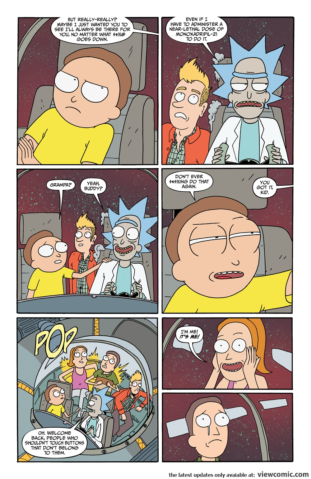 Rick and Morty 011 (2016) …………………… | Reading Comics Online