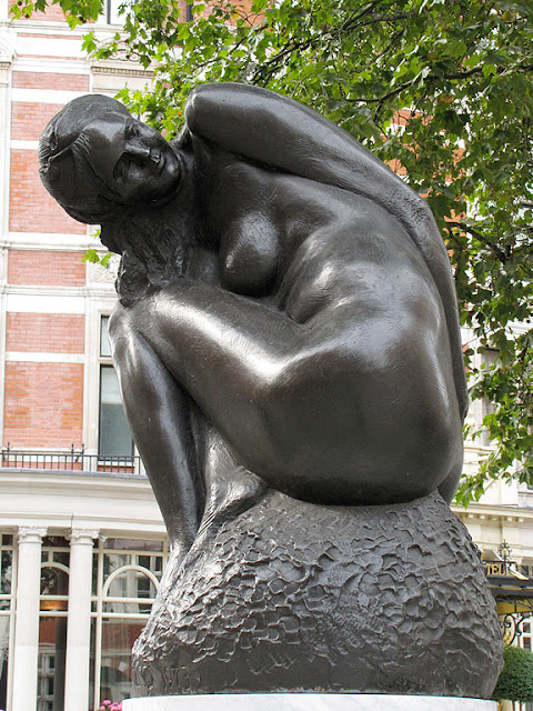 Nymph by Emilio Greco, Carlos Place, London