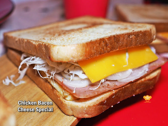 Isaac Toast Malaysia Menu - Chicken Bacon Cheese Special