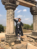 Neha Dhupia In lulu and sky and celine gles on the sets of roadies Rising (3) ~ .jpeg