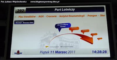 System informacji pasażerskiej, wykaz przystanków