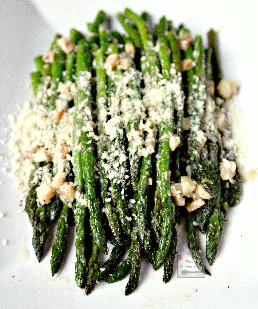 Sautéed Asparagus with Parmesan