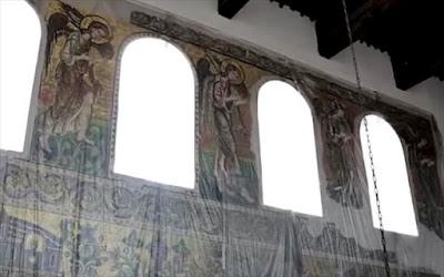 Ένας ακόμα άγγελος στη Βασιλική της Γεννήσεως, στη Βηθλεέμ