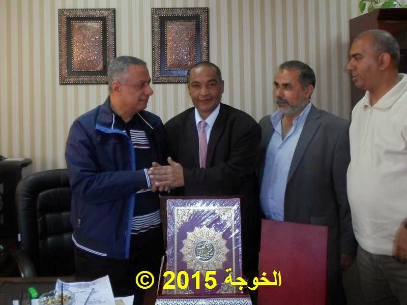 الحسينى محمد ( الخوجة ) يشارك فى موكب وفاء كوكبة معلمى مصر للأستاذ الدكتور محمود ابو النصر
