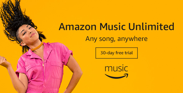 Image: sign up for a 30-day free trial to try out Amazon Music Unlimited