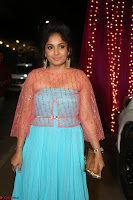 Madhvi Latha in Spicy Transparent Anarkali Dress at Zee Telugu Apsara Awards 2017 38.JPG