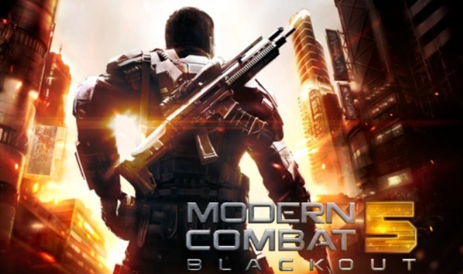 Game FPS Smartphone - Modern Combat 5: Blackout