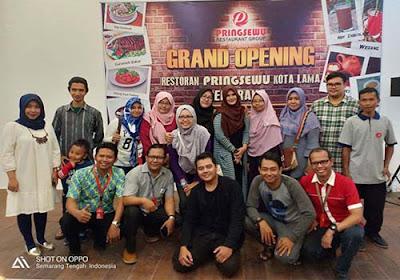Restoran Pringsewu Wisata Kuliner Baru di Kota Lama Semarang