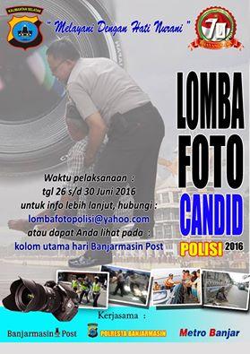 Lomba Foto Candid Polisi 2016