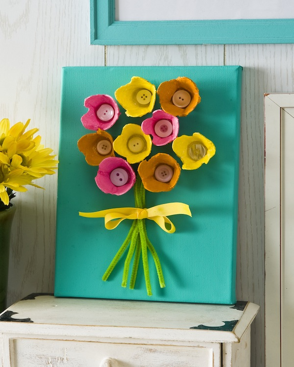 Egg Carton Craft For Home Decor Projects Ideas Art And