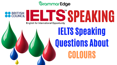 IELTS Speaking Questions About Colours