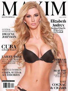 Revista Maxim Sudafrica-Julio 2016 PDF Digital