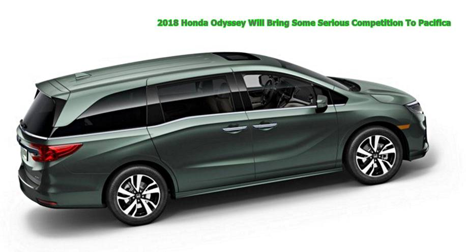 2018 honda odyssey will bring some serious competition to pacifica auto honda rumors. Black Bedroom Furniture Sets. Home Design Ideas